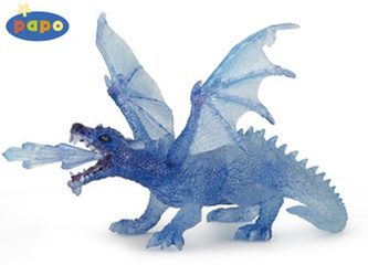 Crystal drak modrý