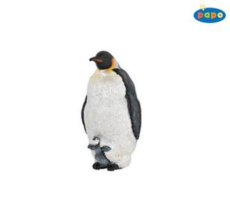 Tučňák s mládětem