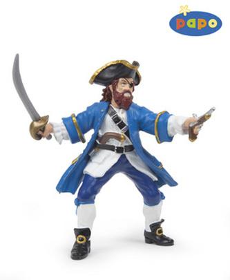 Pirát Barbarossa modrý