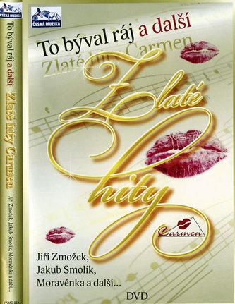 Zlaté hity Carmen - DVD - neuveden