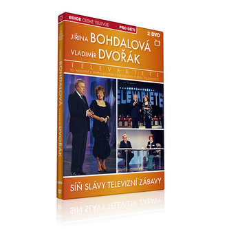 Síň Slávy - Televarieté (Bohdalová, Dvořák) - 2 DVD - neuveden
