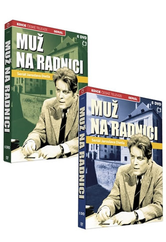 Muž na radnici - 11 DVD - neuveden
