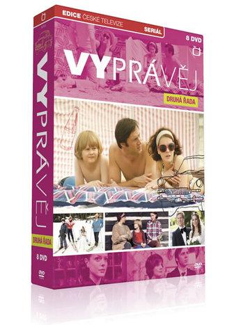 Vyprávěj - 2. řada - 8 DVD - neuveden