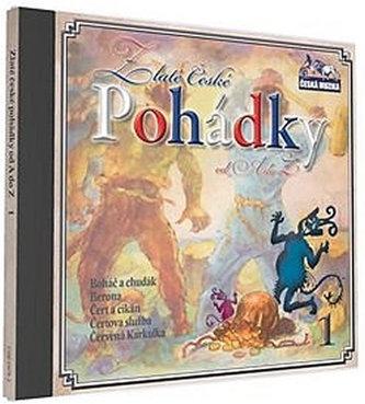 Zlaté České pohádky 1. - 1 CD - neuveden