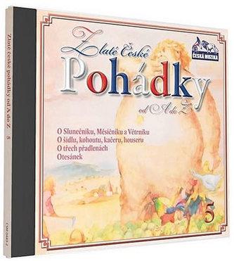 Zlaté České pohádky 5. - 1 CD - neuveden