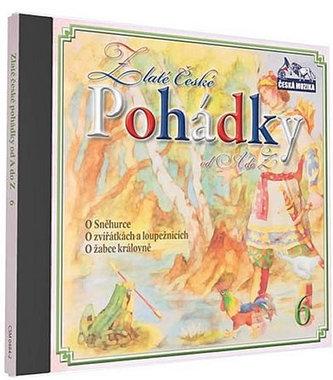 Zlaté České pohádky 6. - 1 CD - neuveden
