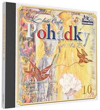 Zlaté České pohádky 10. - 1 CD - neuveden