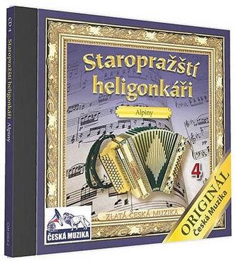 Staropražští heligonkáři - Alpiny - 1 CD - neuveden