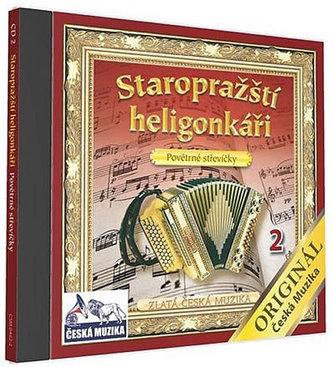 Staropražští heligonkáři - Povětrné střevíčky - 1 CD - neuveden