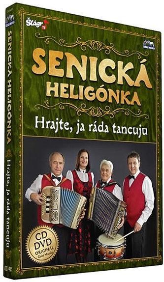 Senická heligonka - Hrajte já ráda tancuju - CD+DVD - neuveden