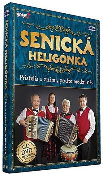 Senická heligonka - Priatelia známí - CD+DVD - neuveden