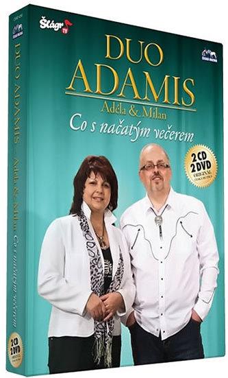 Duo Adamis - Co s načatým večerem - CD+DVD - neuveden