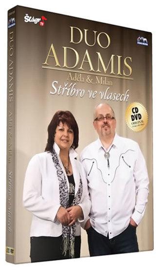 Duo Adamis - Stříbro ve vlasech - CD+DVD - neuveden