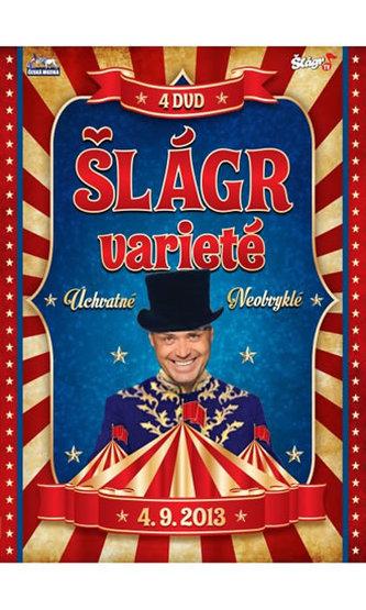 Šlágr Varieté - 4 DVD - neuveden