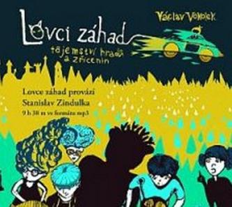 Lovci záhad - tajemství hradů a zřícenin - CDmp3 - Václav Vokolek