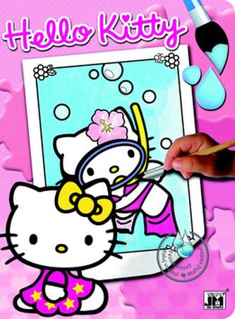Hello Kitty 1 - Vodové omalovánky A4 - neuveden