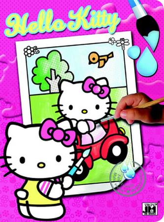 Hello Kitty 2 - Vodové omalovánky A4 - neuveden