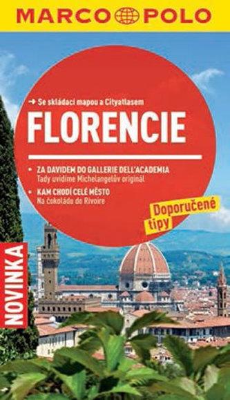 Florencie - Průvodce se skládací mapou - neuveden