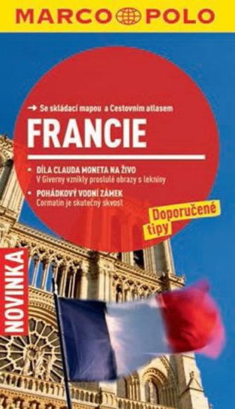 Francie - Průvodce se skládací mapou - neuveden
