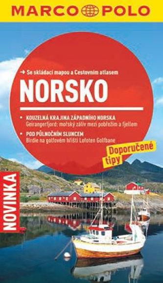 Norsko - Průvodce se skládací mapou - neuveden