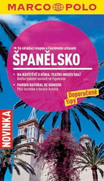 Španělsko - Průvodce se skládací mapou - neuveden