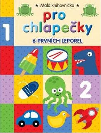 Malá knihovnička pro chlapečky (6 leporel) - neuveden