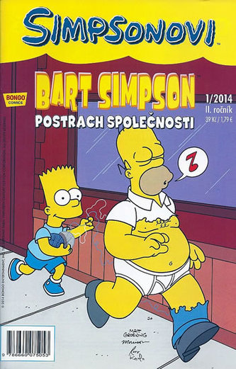 Bart Simpson Postrach společnosti