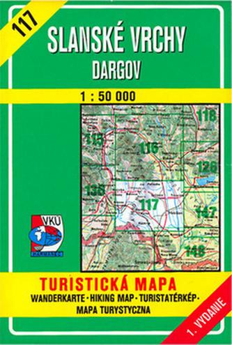 Slanské vrchy Dargov 1:50 000