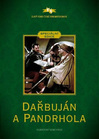 Dařbuján a Pandrhola - DVD (digipack) - neuveden