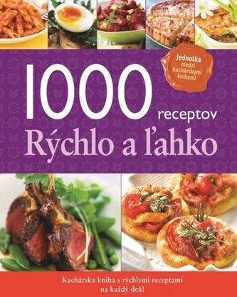 1000 receptov Rýchlo a žahko