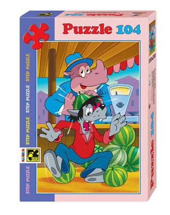 Puzzle 104 Jen počkej, zajíci! - Osudový meloun - neuveden