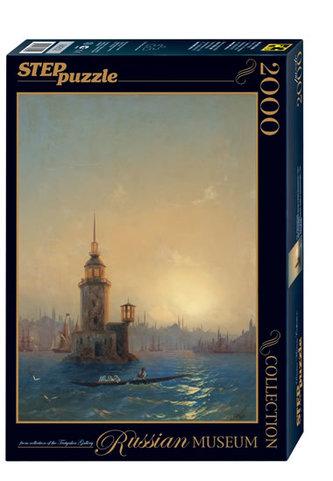 Puzzle 2000 Ajvazovskij Leandrová věž v Konstantinopolu (ze sbírek ruských muzeí) - neuveden