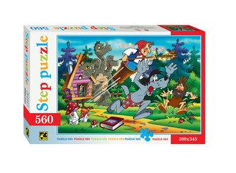 Puzzle 560 Jen počkej, zajíci - V pohádce - neuveden