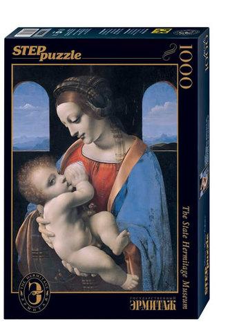 Puzzle 1000 Da Vinci Madona Litta (ze sbírek ruských muzeí) - neuveden