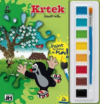 Krtek - Omalovánky s barvami A5 - neuveden