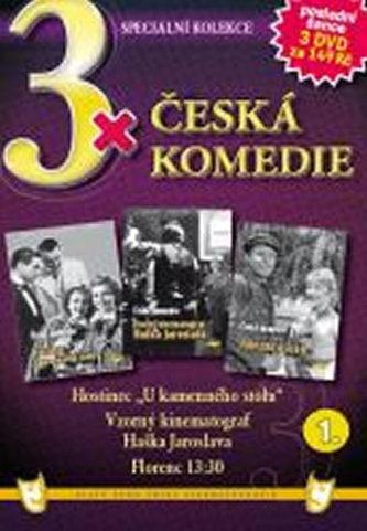 3x DVD - Česká komedie 1. - neuveden