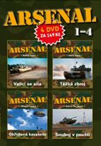 DVD set - Arsenal 1.- 4. - neuveden
