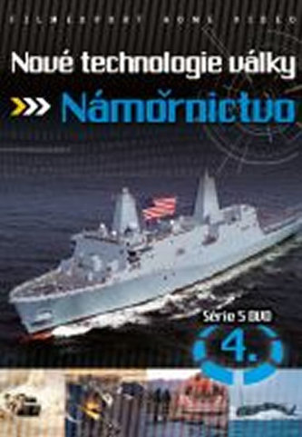 Nové technologie války 4. - Námořnictvo - DVD digipack - neuveden