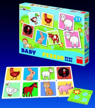 Baby Pexeso - Domácí zvířátka - neuveden