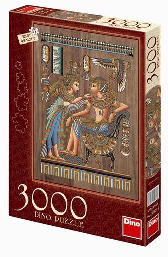 Egyptský papyrus - puzzle 3000 dílků - neuveden
