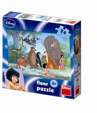 Kniha Džunglí - Maxi puzzle 24 dílků - neuveden