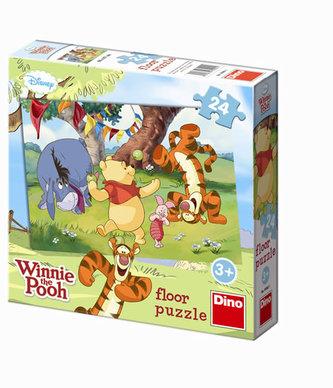 Medvídek Pú - Maxi puzzle 24 dílků - neuveden