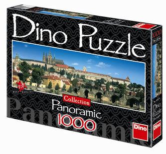 Pražský Hrad - puzzle Panoramic 1000 dílků - neuveden