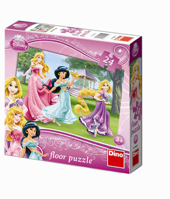 Princezny - Maxi puzzle 24 dílků - neuveden