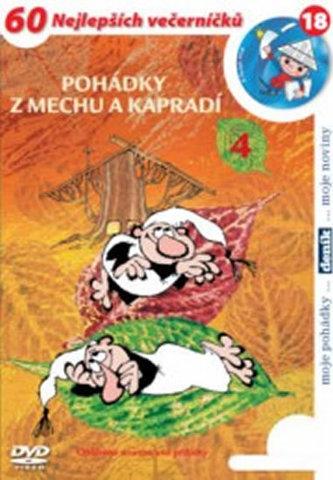 Pohádky z mechu a kapradí 4. - DVD - neuveden