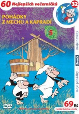 Pohádky z mechu a kapradí 5. - DVD - neuveden