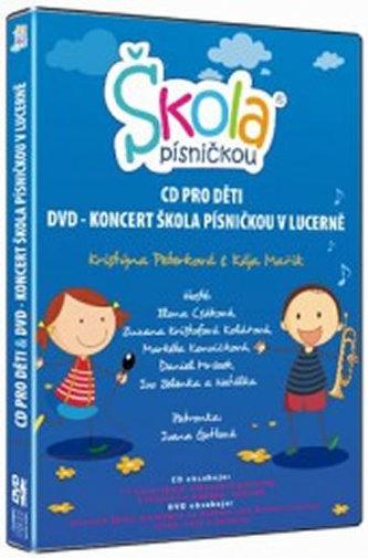 Škola písničkou - CD+DVD - neuveden