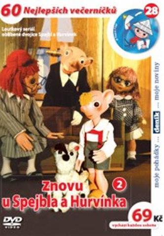 Znovu u Spejbla a Hurvínka 2. - DVD - neuveden