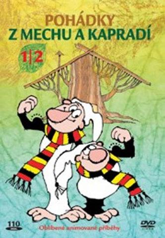 Pohádky z mechu a kapradí 1/2 - DVD - Zdeněk Smetana