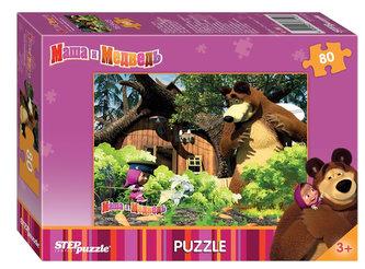Puzzle 80 Máša a Medvěd - Na zahradě - neuveden